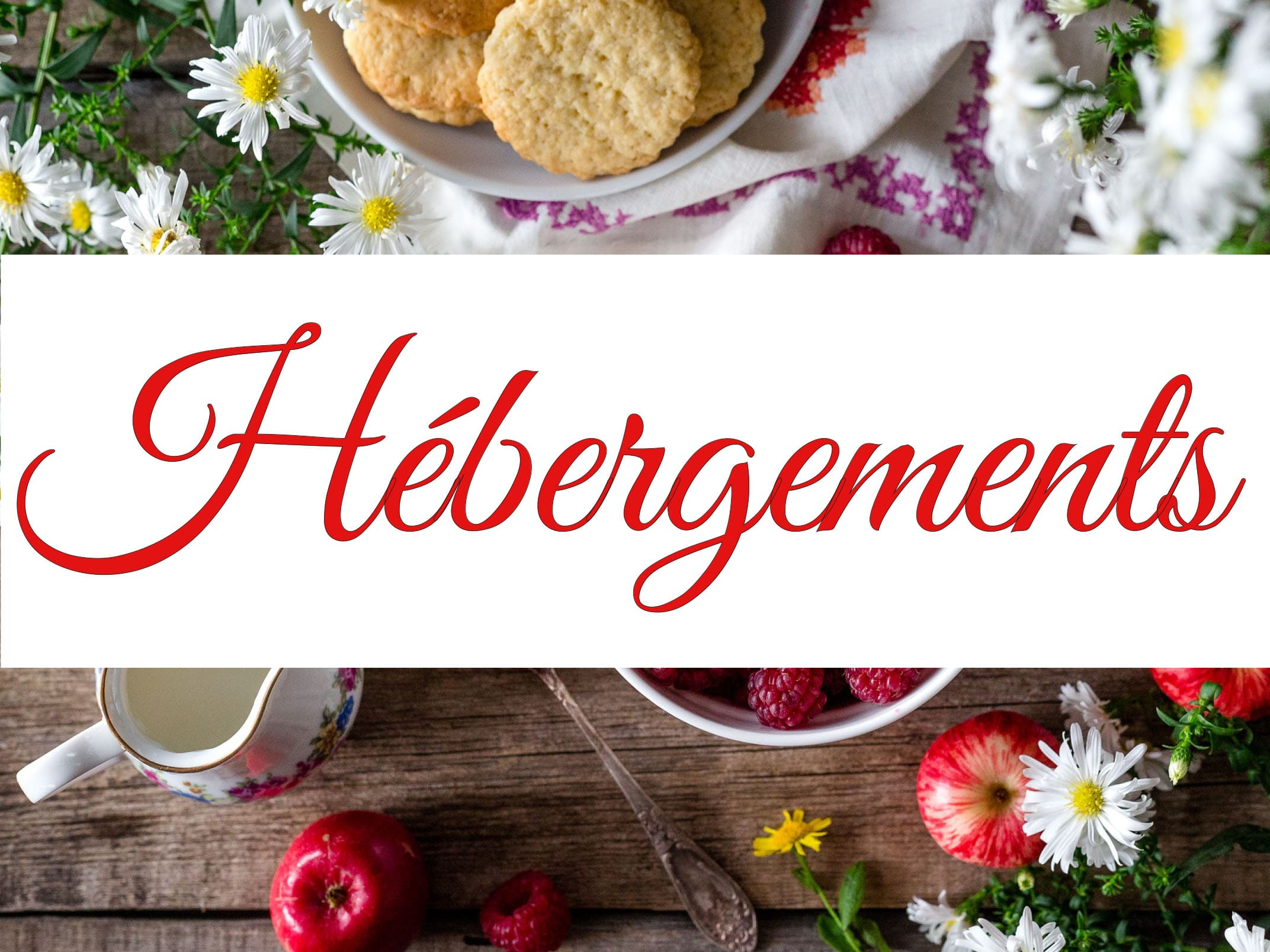 HEBERGEMENTS LA VITRINE DU COQUELICOT