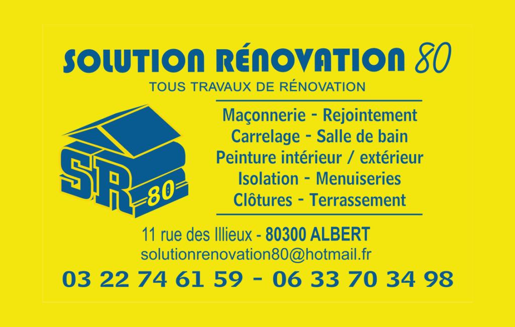SOLUTION RENOVATION 80