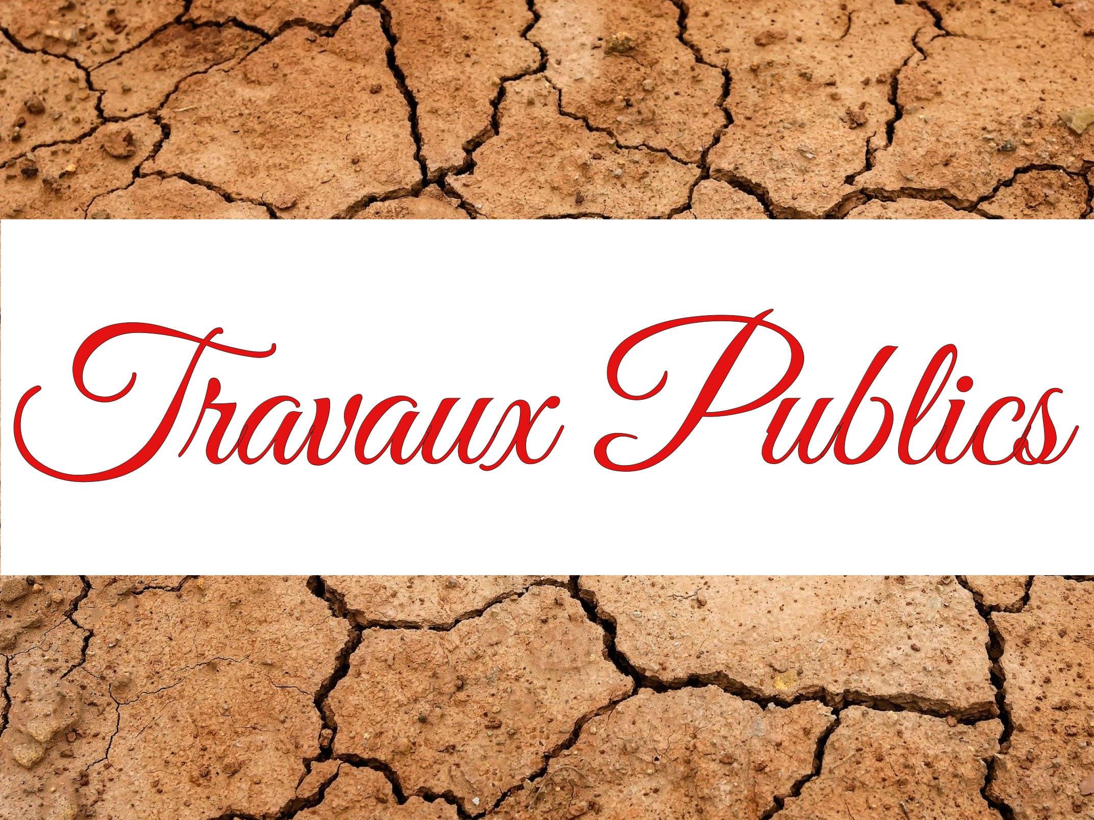 TRAVAUX PUBLICS VITRINE DU COQUELICOT