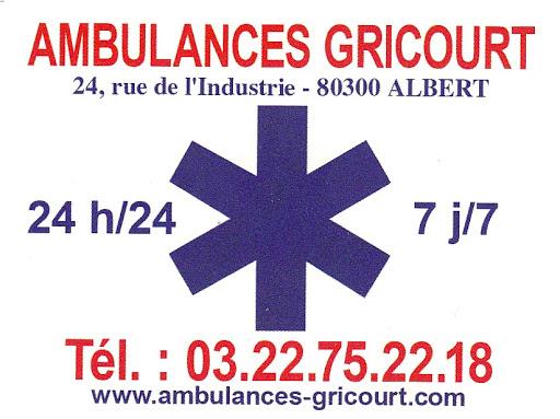 AMBULANCES TAXI GRICOURT