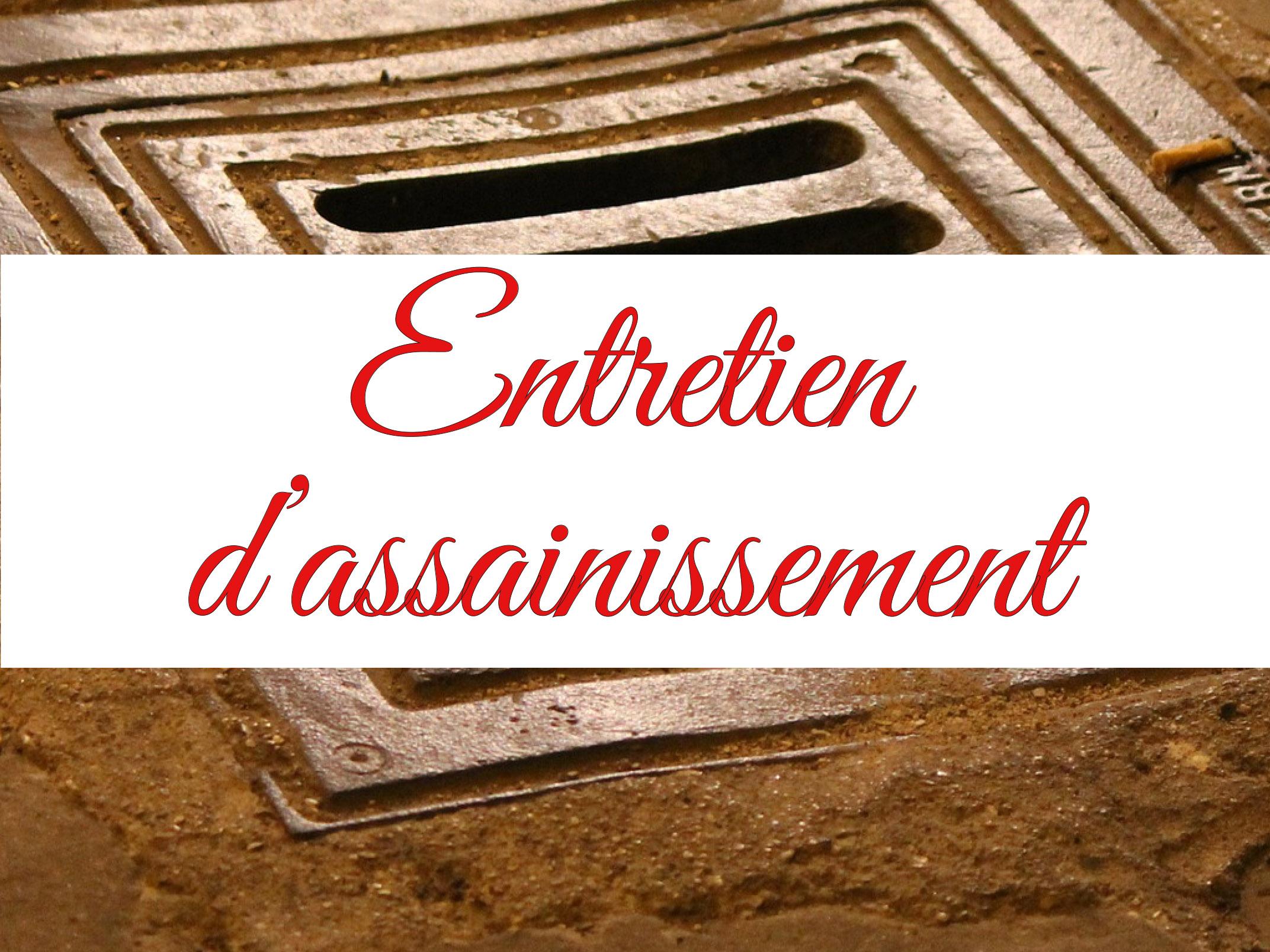 ENTRETIEN D ASSAINISSEMENT LA VITRINE DU COQUELICOT