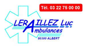 AMBULANCES LERAILLEZ LOGO
